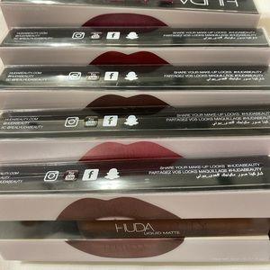 HudaBeauty Liquid Matte Lipsticks